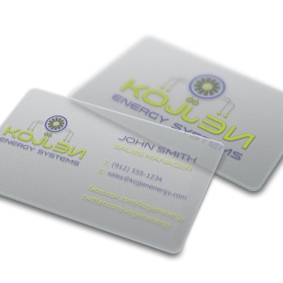 kojjen business card design