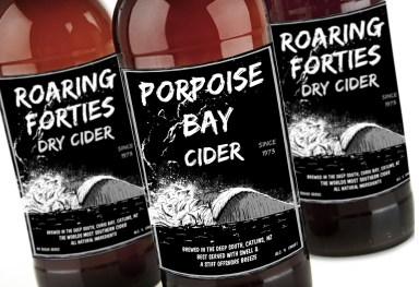 Craft Cider branding and label design