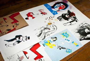 Limited edition Screenprints and Artwork