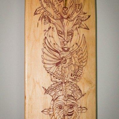 Close up 'Spirit Animal Totem'