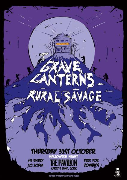 'Grave Lanterns' live at the Pavillion, Cork