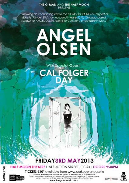 'Angel Olsen' live at the Half Moon Theatre, Cork