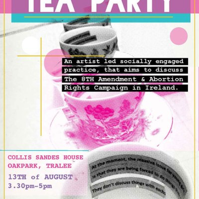 'Traveling Tea Party' Poster Design