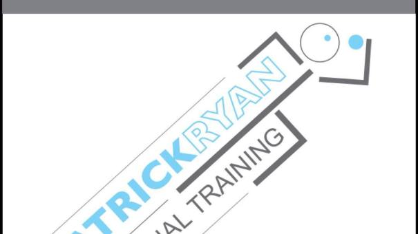New logo created for Patrick Ryan Personal Training