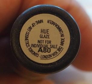 MAC Hue Glaze Lipstick Review Swatch