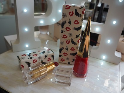 MAC Charlotte Olympia To Have or Have Not Studio nail lacque Leading Lady Red Lipstick review swatch