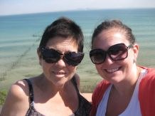 mum and me beach