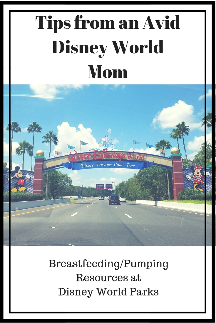 Breastfeeding/Pumping Resources at Disney World Parks