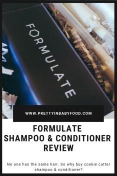 Formulate Shampoo & Conditioner Review