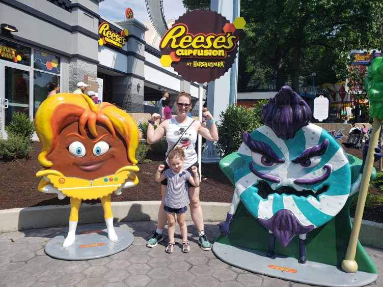 Reese's Cupfusion ride