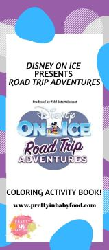 Disney On Ice Coloring Activity Book