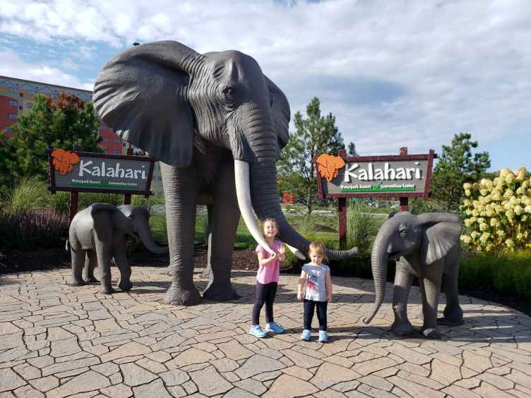 Kalahari Resorts Poconos Grounds