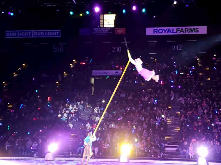 Disney On Ice Aerial