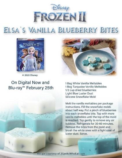 Frozen 2 Blueberry Bites