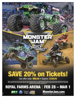 Monster Jam Code Flyer