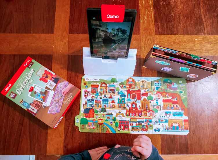 Play Osmo Detective Agency