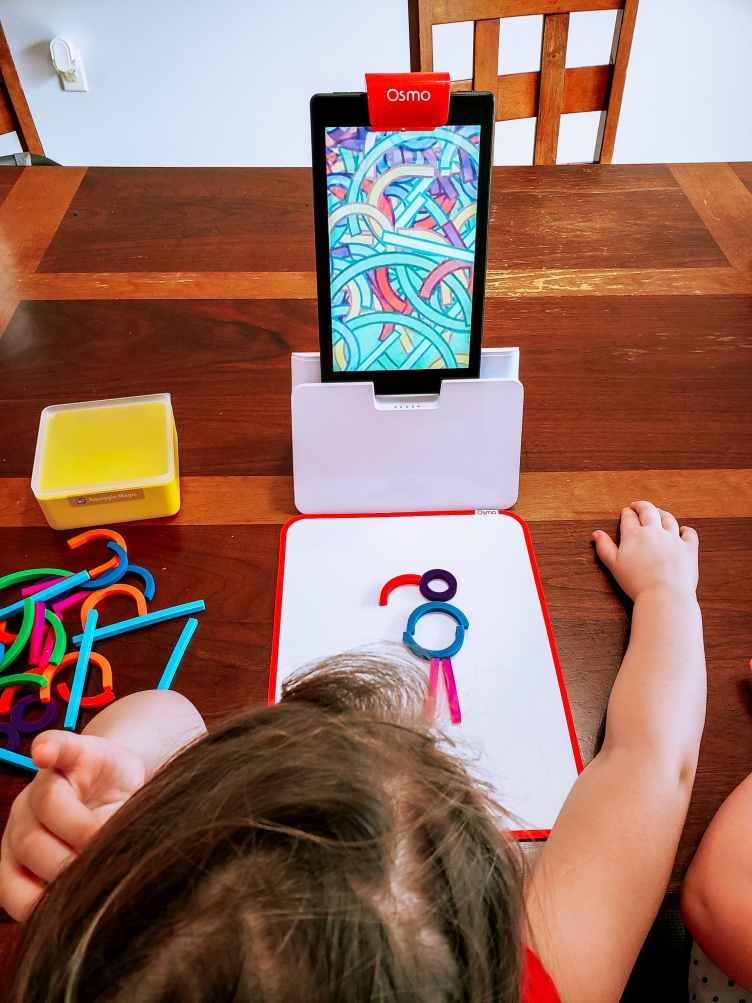 Counting and Learning with Play Osmo