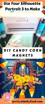 DIY Candy Corn Magnets Instructions