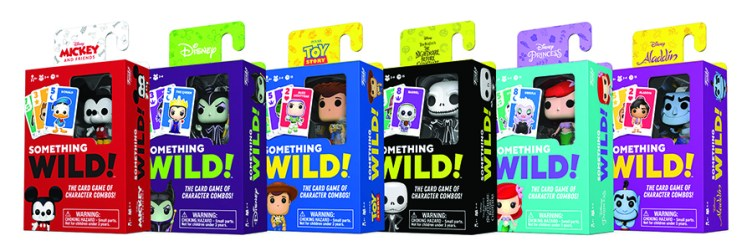 Funko Games Something Wild Card Games