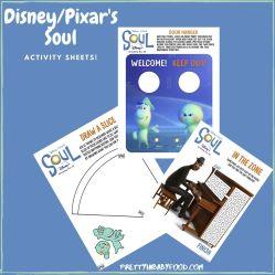 Soul Activity Sheets