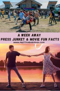 A Week Away Press Junket & Movie Fun Facts