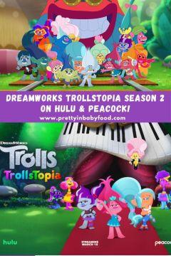 DreamWorks TrollsTopia Season 2 on Hulu & Peacock!