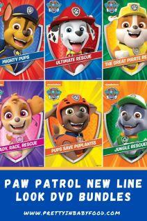Paw Patrol New Line Look DVD Bundles Info
