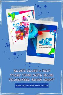 Blue's Clues & You! Story Time with Blue Touch and Feel Book Craft
