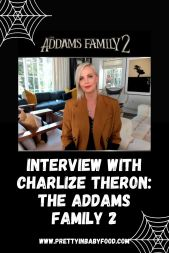 Interview with Charlize Theron for The Addams Family 2