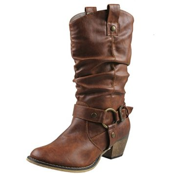 Image result for Refresh Women Wild-02 Western Style Cowboy Boots