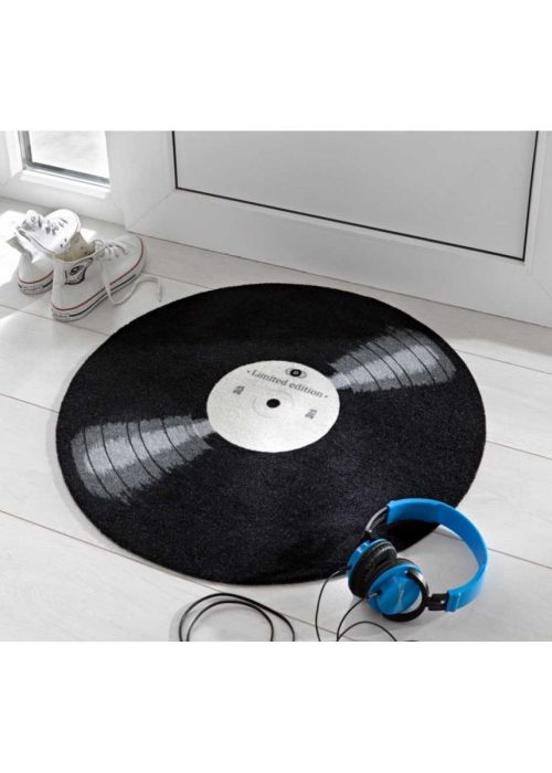 Retro Schallplatte Fußmatte