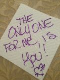 The ONLY ONE for Me is You!