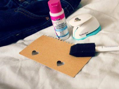 Pinned/Tried/Loved It: DIY Heart Patterned Jeans