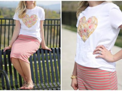 DIY Iron-On Transfer Shirts under $5!