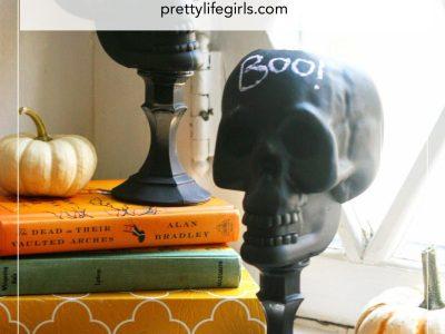 DIY Upcycled Dollar Store Skulls