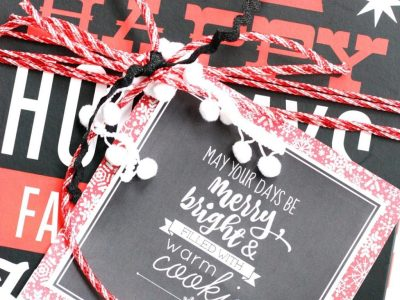 DIY Christmas Cookie Box + Free Printables