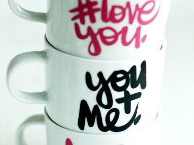 DIY #LoveYou Mugs