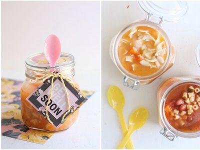 """DIY """"Get Well"""" Soup Jars"""