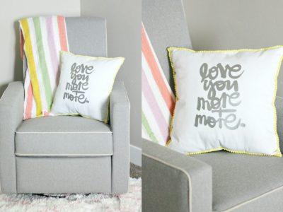 PLG Loves: Davinci (featuring a DIY Mini Pom-Pom Pillow)!