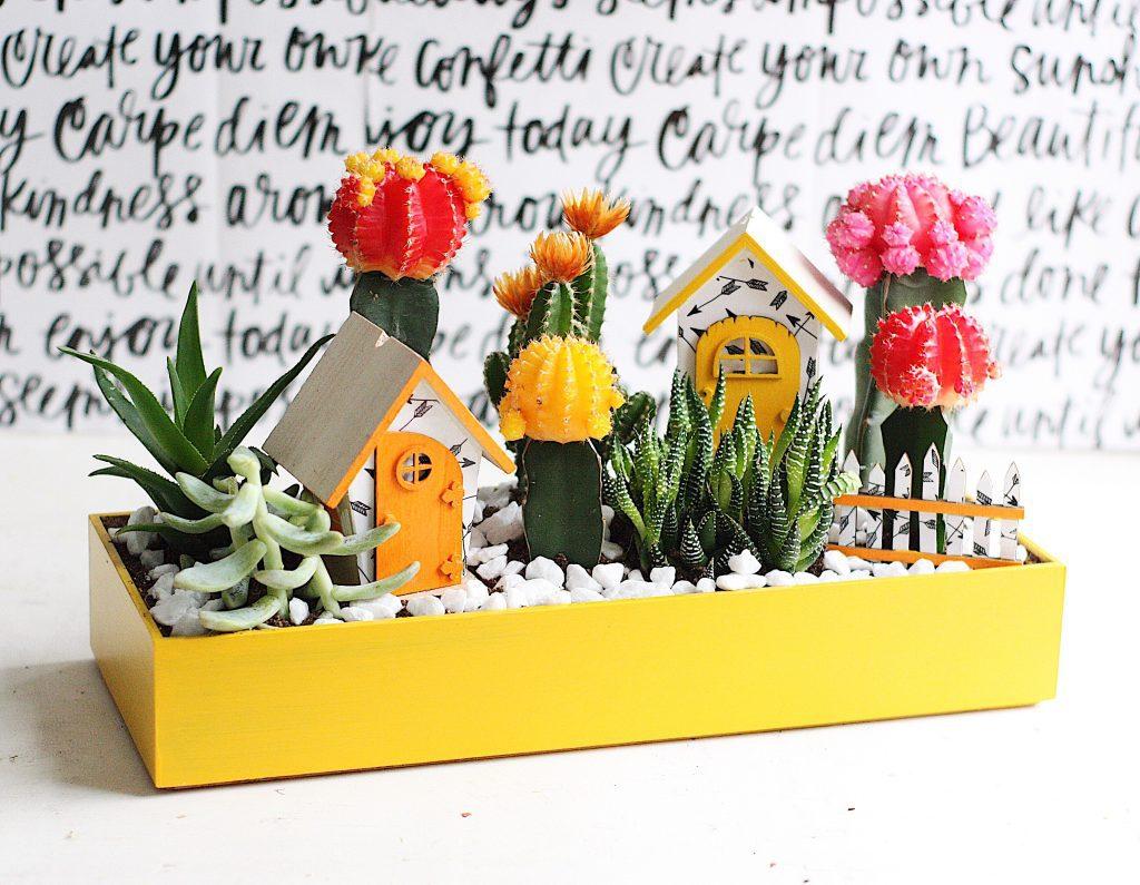 Bright Cactus Fairy Garden on design your own princess, design your own halloween, design your own water garden, design your own roses, design your own jewelry, design your own garden flag, design your own vegetable garden, design your own bird bath, design your own crafts, start your own fairy garden, design your own garland,