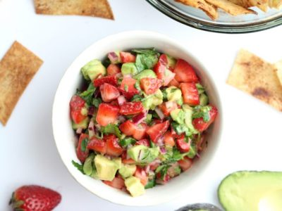 Strawberry Avocado Salsa Recipe
