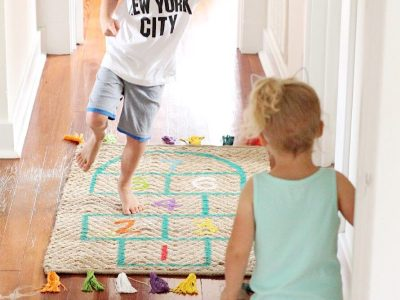 DIY Reversible Play Rug