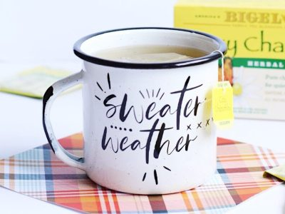 "DIY ""Sweater Weather"" Mugs"