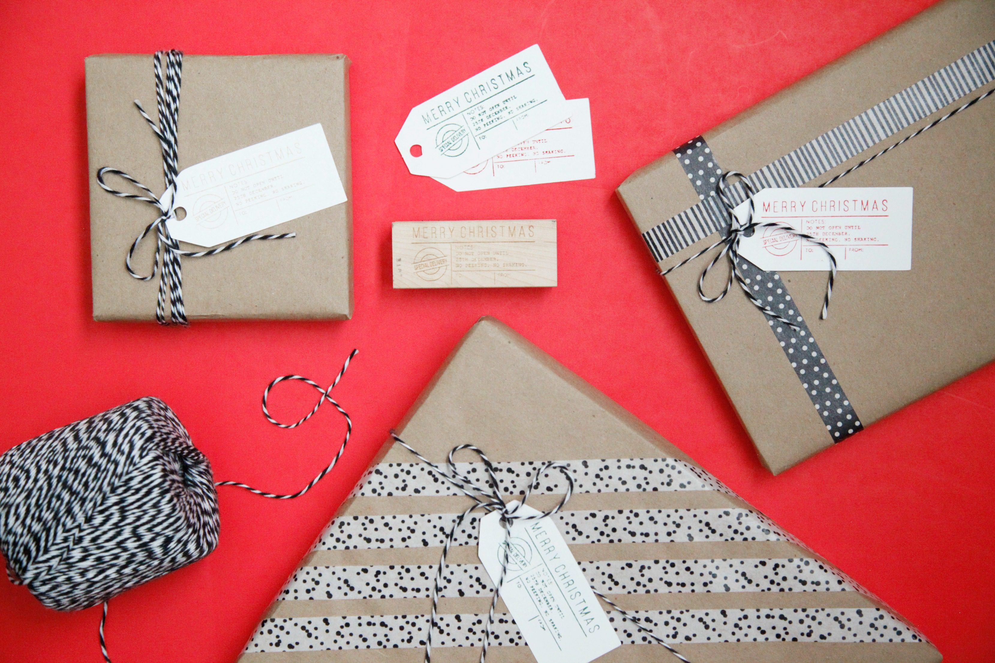 stamped gift tags 5