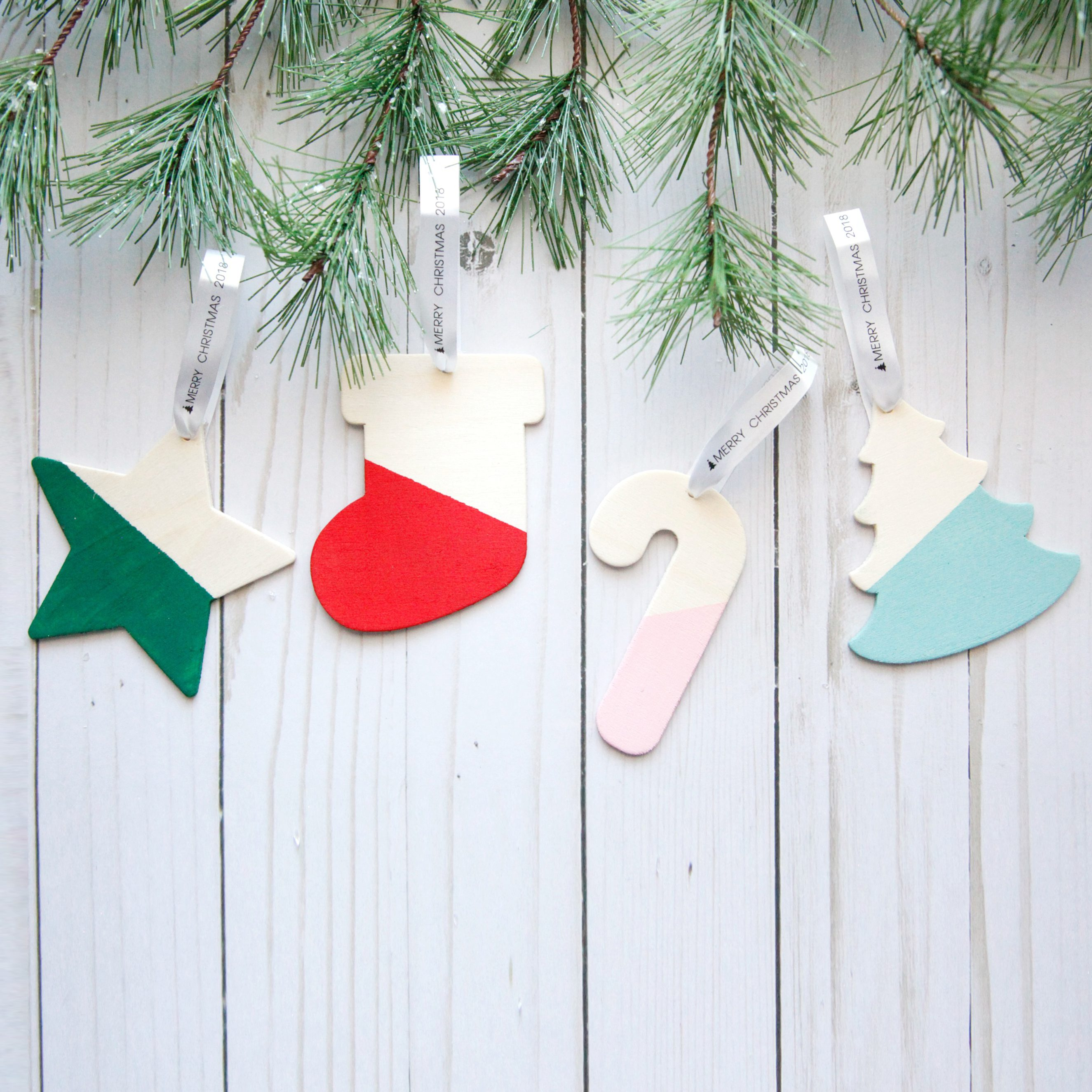 DIY Ornament Christmas Cards with Brother! - The Pretty Life Girls
