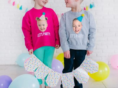 DIY Birthday Shirt Using Photoshop Elements