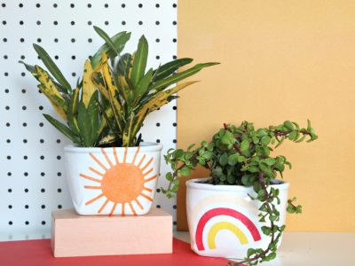 How to Make your own DIY Sand Art Planters