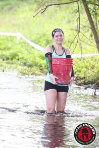 """The photographer yelled """"MudRunFun!"""" and I smiled!"""