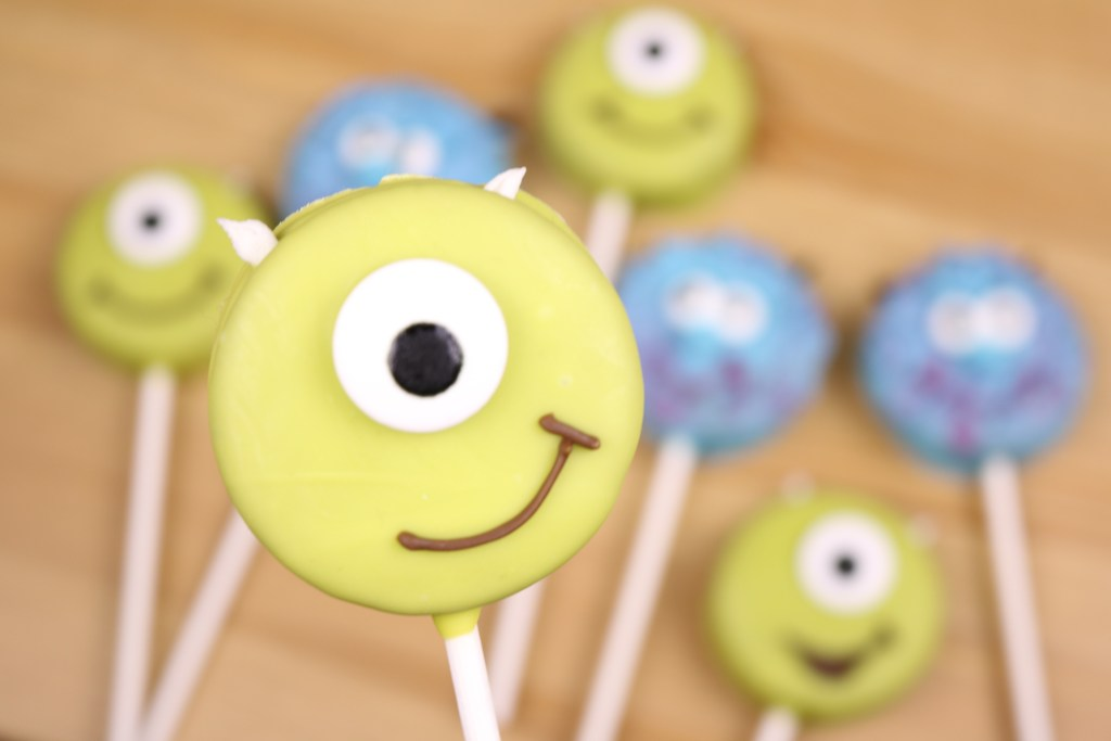 Monster's Inc. Oreo Pops