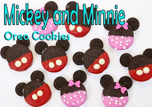 Mickey and Minnie Oreos